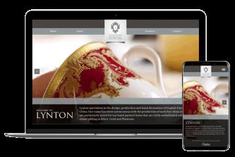 Creative Direction.one web development service lyntonfbc.com mobile desktop view